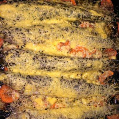 Пеленгас запеченный в духовке целиком фото рецепт от шеф повара