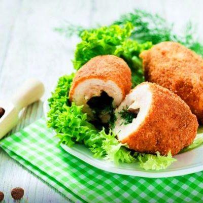 Котлета по-киевски, пошаговый рецепт с фото