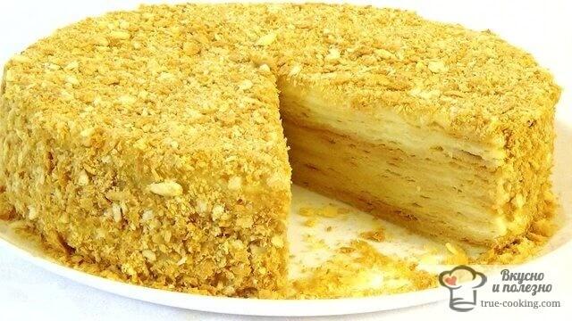 ТОРТ Наполеон классический рецепт с фото пошагово - просто и вкусно