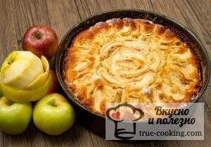 Рецепт шарлотка с яблоками