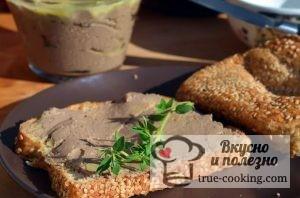 Домашний паштет из куриной печени рецепт с фото - просто и вкусно