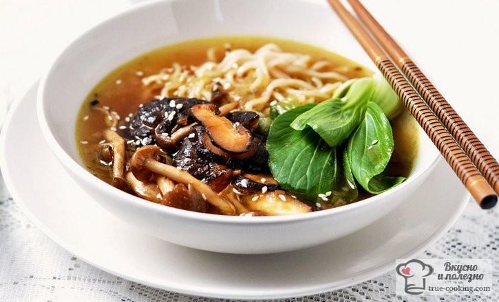 Суп Рамен рецепт с фото