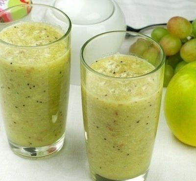 Яблочный смузи рецепт с фото пошагово