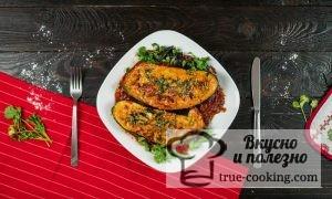 Баклажаны с мясом в духовке рецепт с фото+