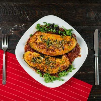 Запеченные баклажаны с мясом в духовке рецепт с фото
