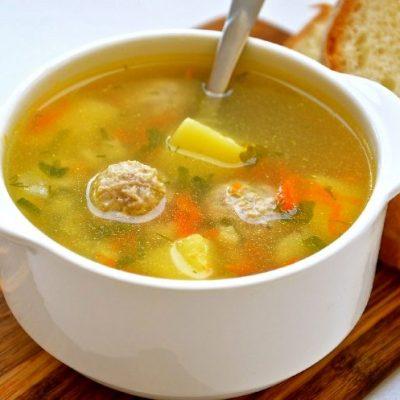 Суп с фрикадельками рецепт с фото пошаговый. Вкусный
