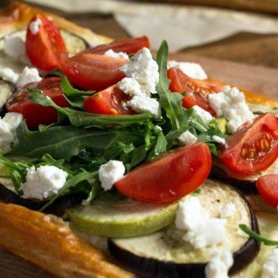 Тарт рецепт с овощами