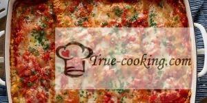 Лазанья из цветной капусты - быстрый и полезный рецепт
