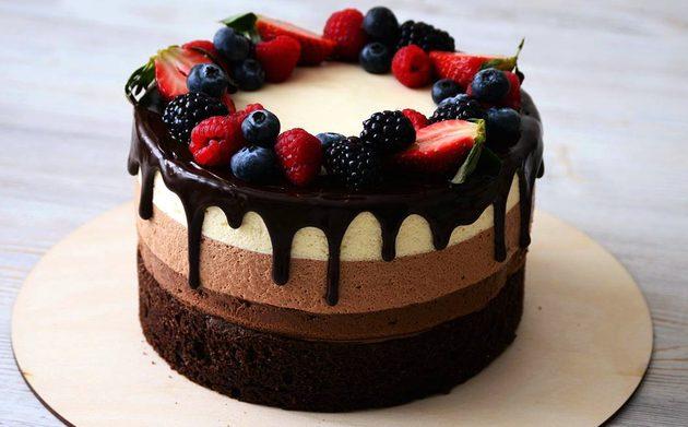 Кулинария рецепты тортов пирожных фото