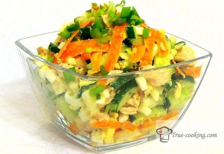 Салат «пражский» рецепт с фото пошагово. Без майонеза