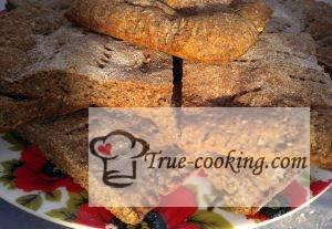 Хлебные лепешки без дрожжей в духовке (на кефире)