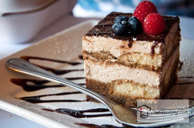 Десерт «Тирамису» рецепт