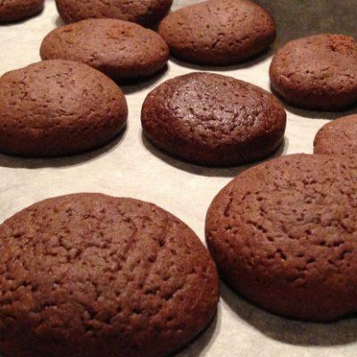 Рецепт шоколадного печенья с какао