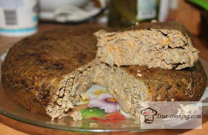 Как приготовить печеночный торт «запеканка»