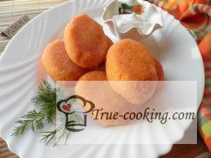Рецепт морковных котлет