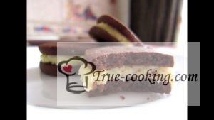 Кокосово-шоколадное печенье