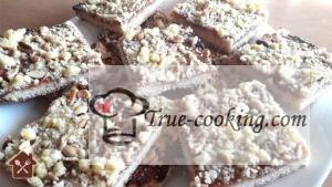 Печенье с повидлом и ирехами