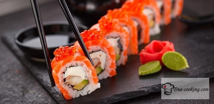 Суши и их особенности