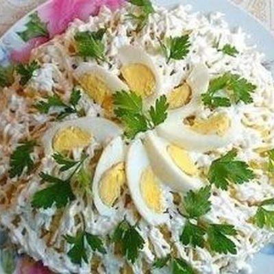 """Рецепт салата """"Невеста"""" с фото"""