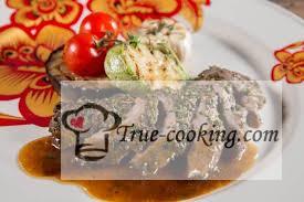 Мясо фаршированное «Садко»