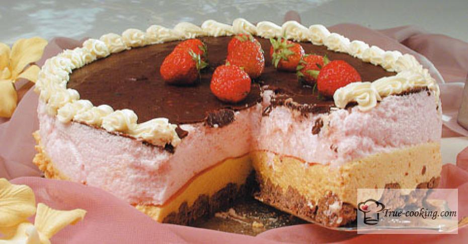 Торт золушка — необыкновенно интересный тортик