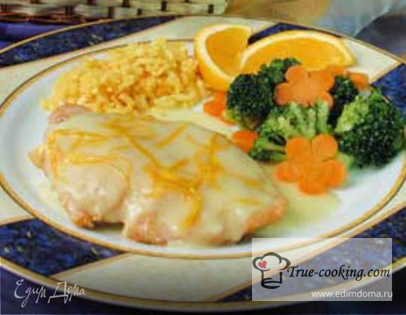 Курица с апельсиновым соусом