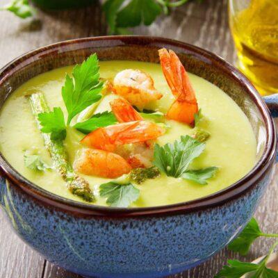Сырный суп пюре рецепт